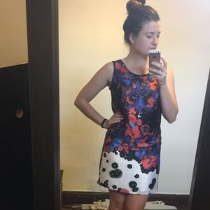 The Limited Forenza Floral Sheath Dress